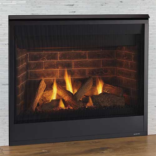 "32"" Quartz Traditional IntelliFire Direct Vent Fireplace  (Electronic Ignition) - Majestic"