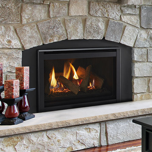 25 Ruby Traditional Intellifire Plus Direct Vent Fireplace Insert