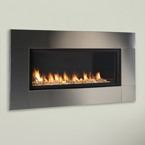 42 Artisan Total Signature Command Vent Free Linear Fireplace Electronic Ignition Monessen