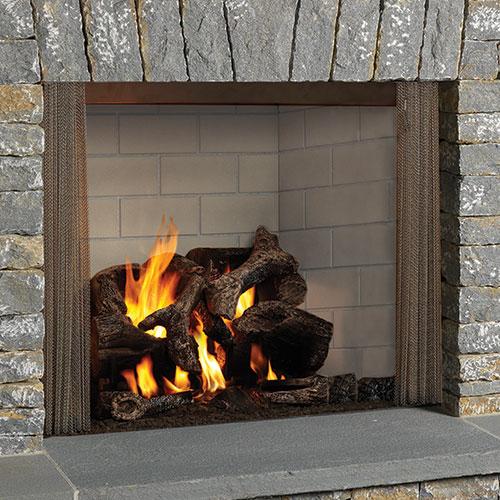 Pleasant 42 Castlewood Outdoor Radiant Wood Burning Fireplace Liner Monessen Home Interior And Landscaping Fragforummapetitesourisinfo