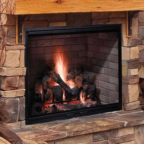 Astounding 50 Biltmore Radiant Wood Burning Fireplace Traditional Liner Monessen Home Interior And Landscaping Fragforummapetitesourisinfo