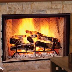 Biltmore Radiant Wood Burning Fireplace, Herringbone Liner - Monessen
