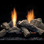 Monessen Multi-Sided Log And Burner Sets
